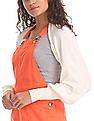 Flying Machine Women Solid Open Front Cropped Shrug