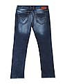 Flying Machine Mid Rise Stone Wash Jeans