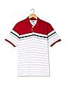 Roots by Ruggers Striped Pique Polo Shirt