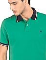 Aeropostale Contrast Collar Regular Fit Polo Shirt