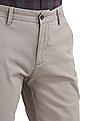 Arrow Sports Chrysler Slim Fit Flat Front Trousers