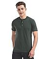 Cherokee Regular Fit Henley T-Shirt