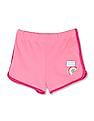 The Children's Place Toddler Girl Pink Matchables Hashtag Girlsquad Patch Dolphin Shorts