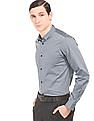 Arrow Newyork Patterned French Placket Shirt
