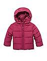 The Children's Place Toddler Girl Puffer Hooded Jacket