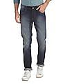 Flying Machine Blue Jackson Skinny Fit Washed Jeans