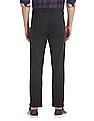 Arrow Sports Chrysler Slim Fit Solid Trousers