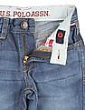 U.S. Polo Assn. Kids Boys Distressed Washed Jeans
