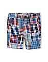 The Children's Place Toddler Boy Patchwork Woven Shorts