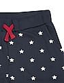 U.S. Polo Assn. Kids Boys Star Print Knitted Joggers