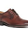 Arrow Burnished Leather Oxford Shoes
