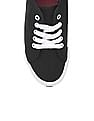 Aeropostale Solid Canvas Sneakers