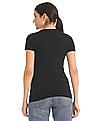 Aeropostale Brand Applique Crew Neck T-Shirt