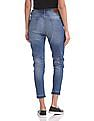 U.S. Polo Assn. Women Skinny Fit Whiskered Jeans