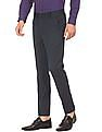 Excalibur Super Slim Fit Flat Front Trousers