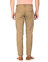 U.S. Polo Assn. Solid Slim Tapered Fit Trousers