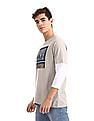 Colt Grey Doctor Sleeve Printed T-Shirt