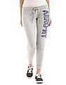 Aeropostale Terry Lined Knitted Joggers