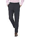 Arrow Newyork Tapered Fit Formal Trousers